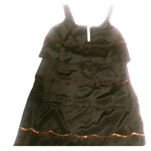 Black/Bronze Sequin dress